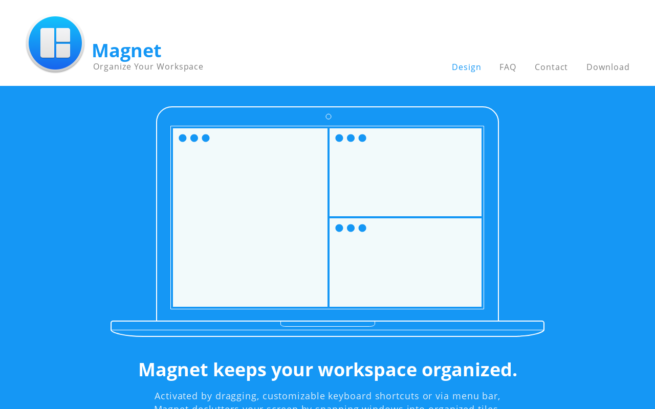 Product screenshot of Magnet