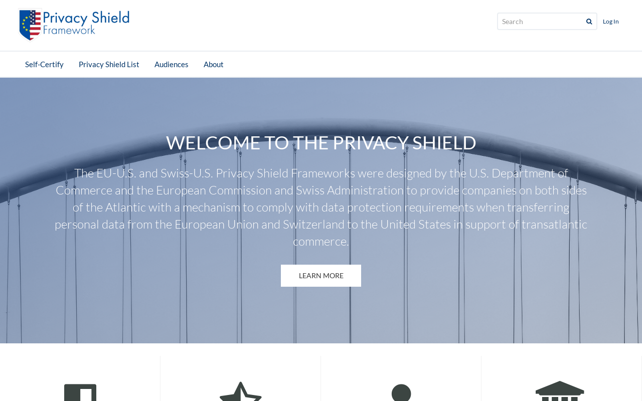Product screenshot of Privacy Shield