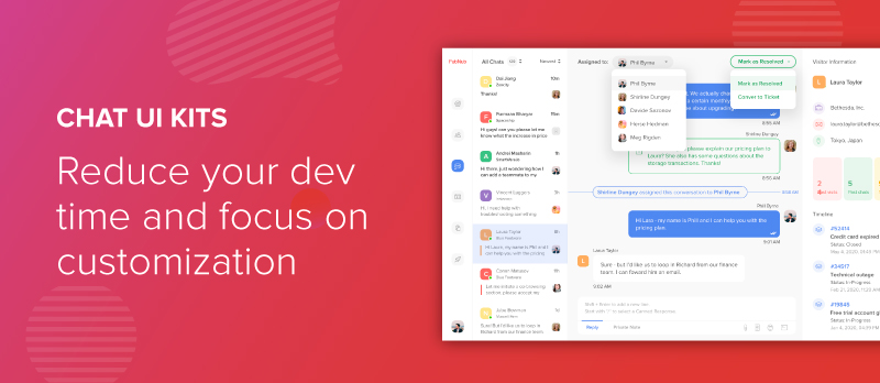 Chat UI Kits: Reduce Your Dev Time, Focus on Customization
