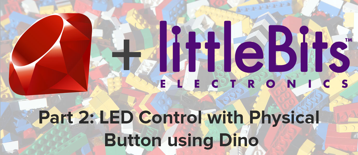 LED Control with Physical Button using Dino