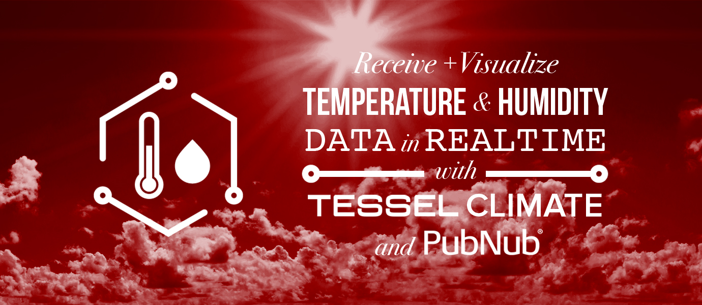 Displaying Tessel Temperature Data on a Live-Updating Chart