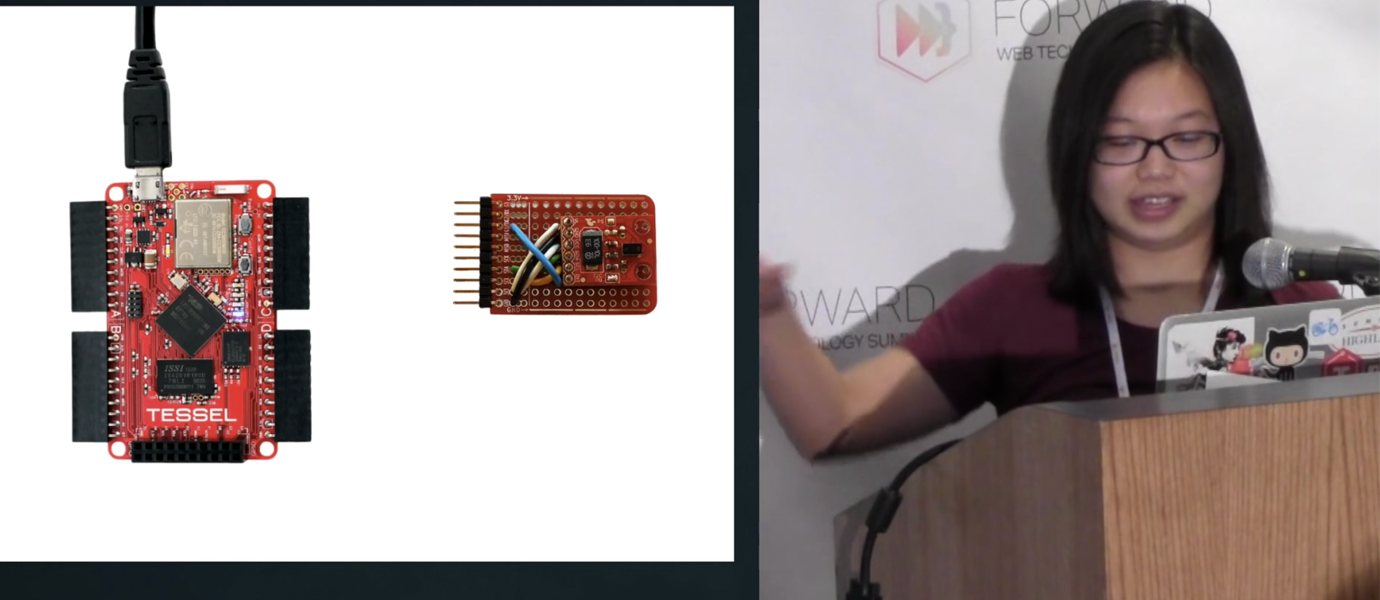 Hacking with JavaScript: Tessel Gesture Sensor Driver