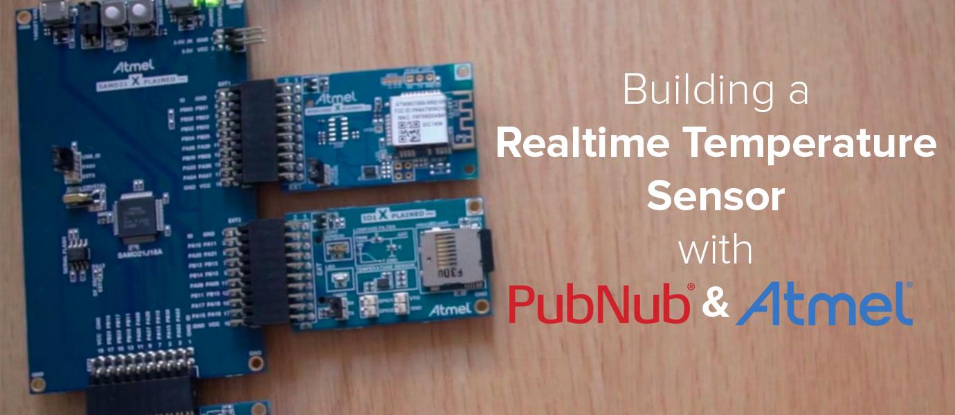 Atmel Xplained Pro: Real-time Temperature Sensor