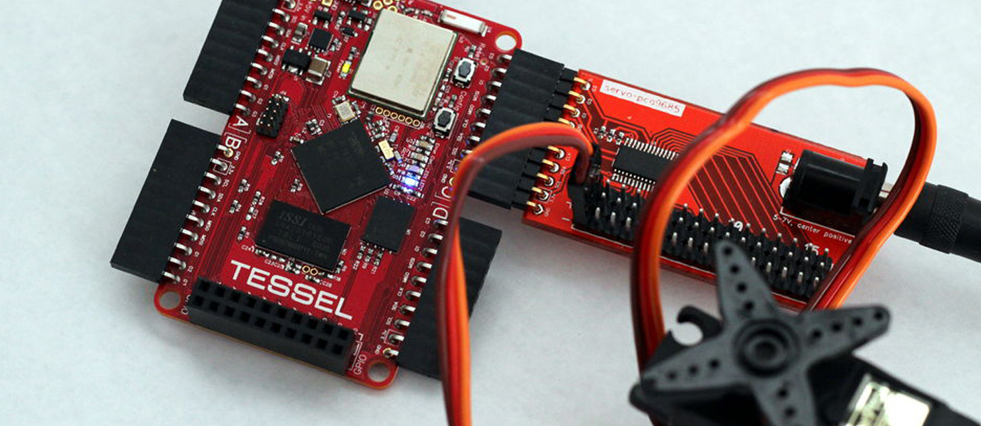 Remote Control and Monitoring for Tessel Servo