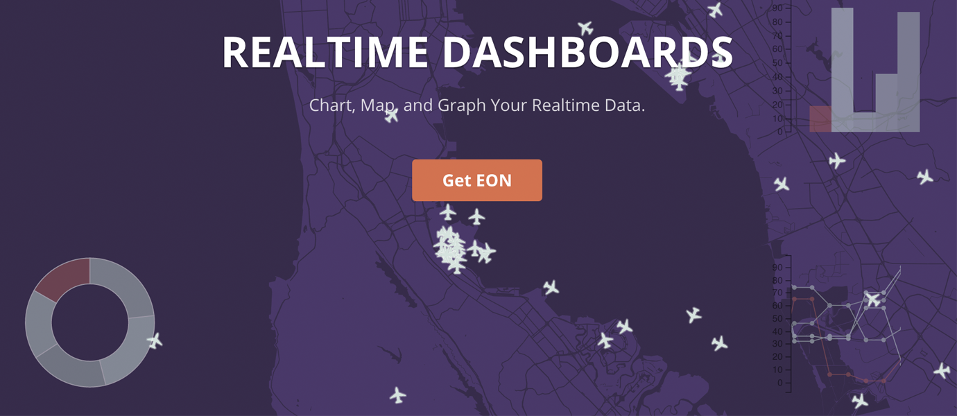 Project EON: Open Source Framework for Realtime Dashboards and Maps