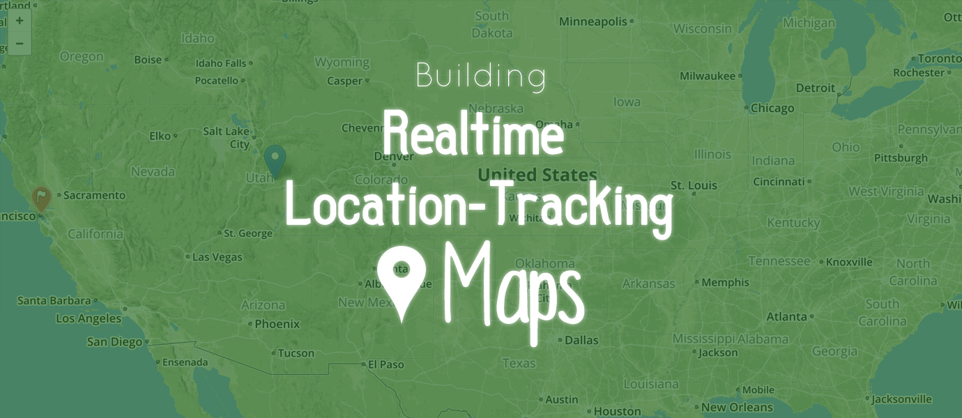 Realtime Location Tracking on a Map in JavaScript