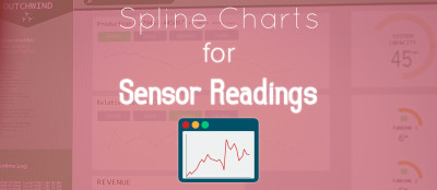 Spline Chart for IoT Sensor Data with Johnny-Five
