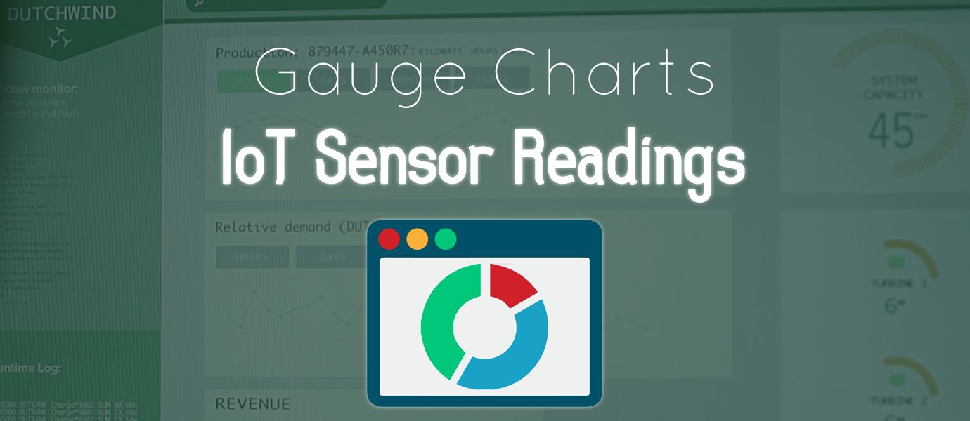 Streaming Sensor Readings to a Real-time Gauge Chart