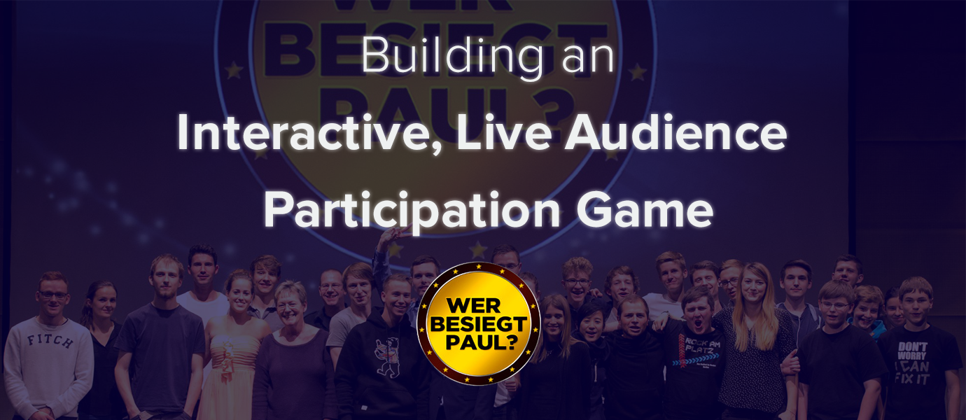 Building an Interactive, Live Audience Participation Game