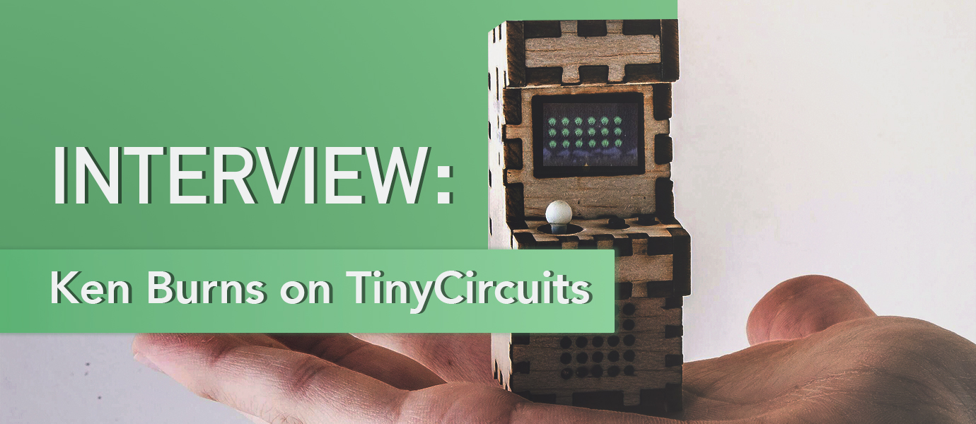 TinyArcade Interview: The Most Adorable Video Game Console You've Ever Seen