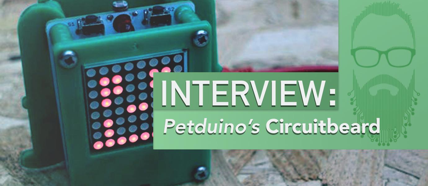 Interview: Petduino Creator, the Pet You Build Yourself