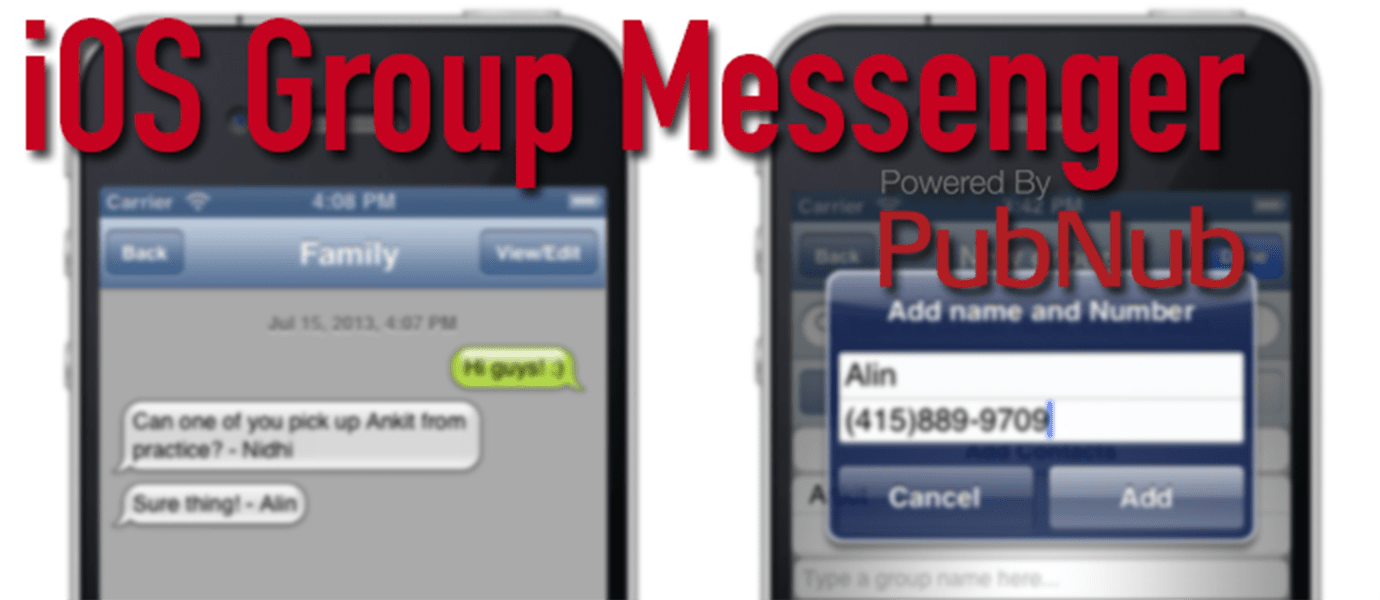 Building an iOS Group Messenger App