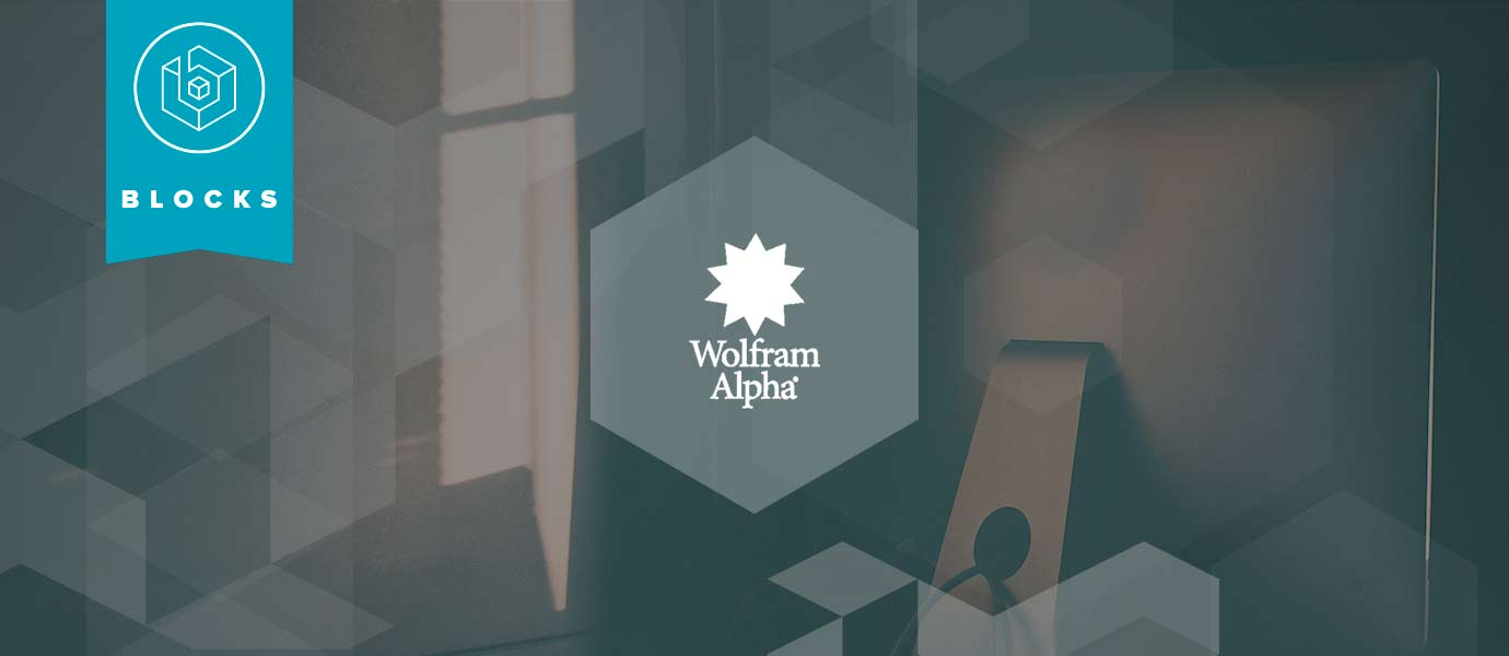 Building Intelligent Q&A Apps with Wolfram Alpha API