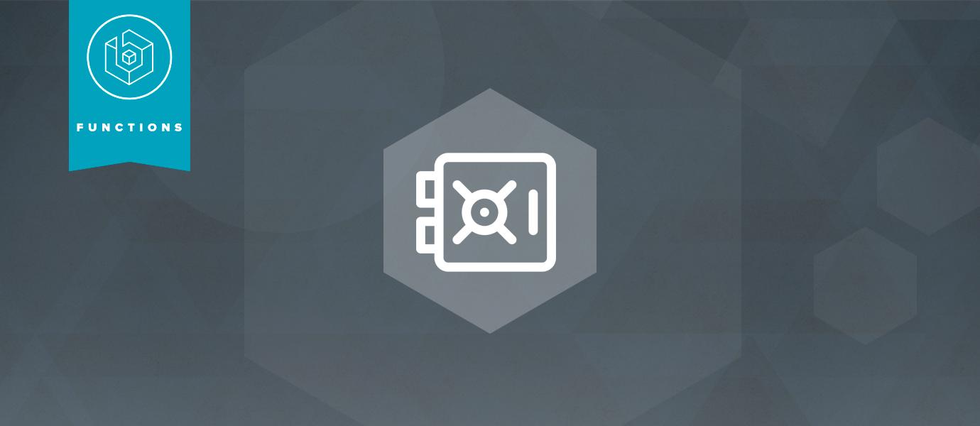Announcing Functions Vault: A Secure Secret Store