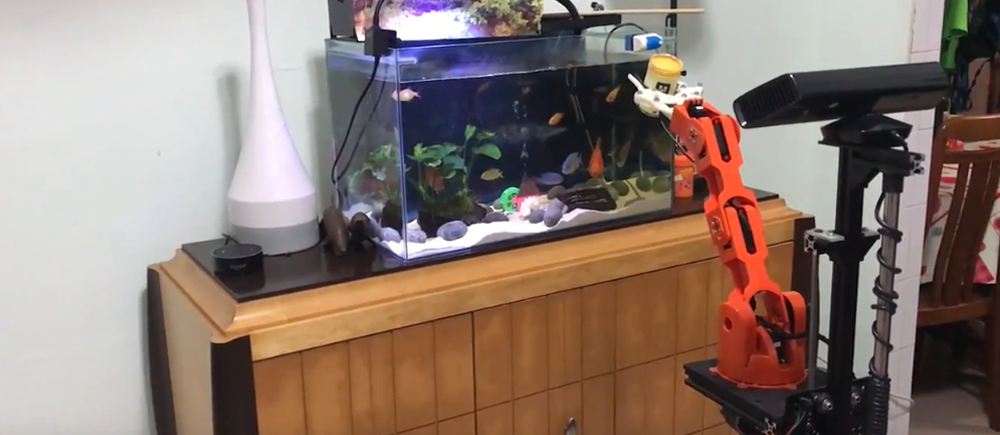 How to Build a Robot to Feed Your Fish (and other things)