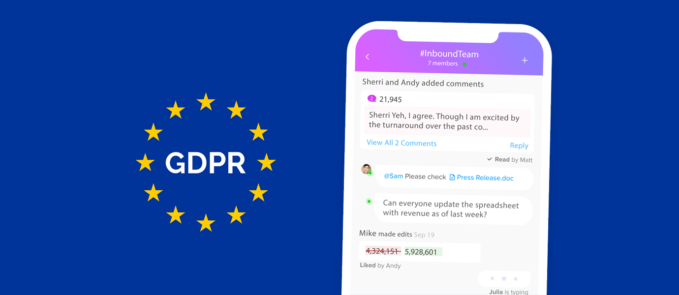 Ensuring GDPR Compliance for PubNub-powered Chat Apps