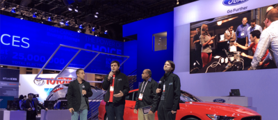 Showcasing at CES: PubNub and Ford AppLink Dispatch App