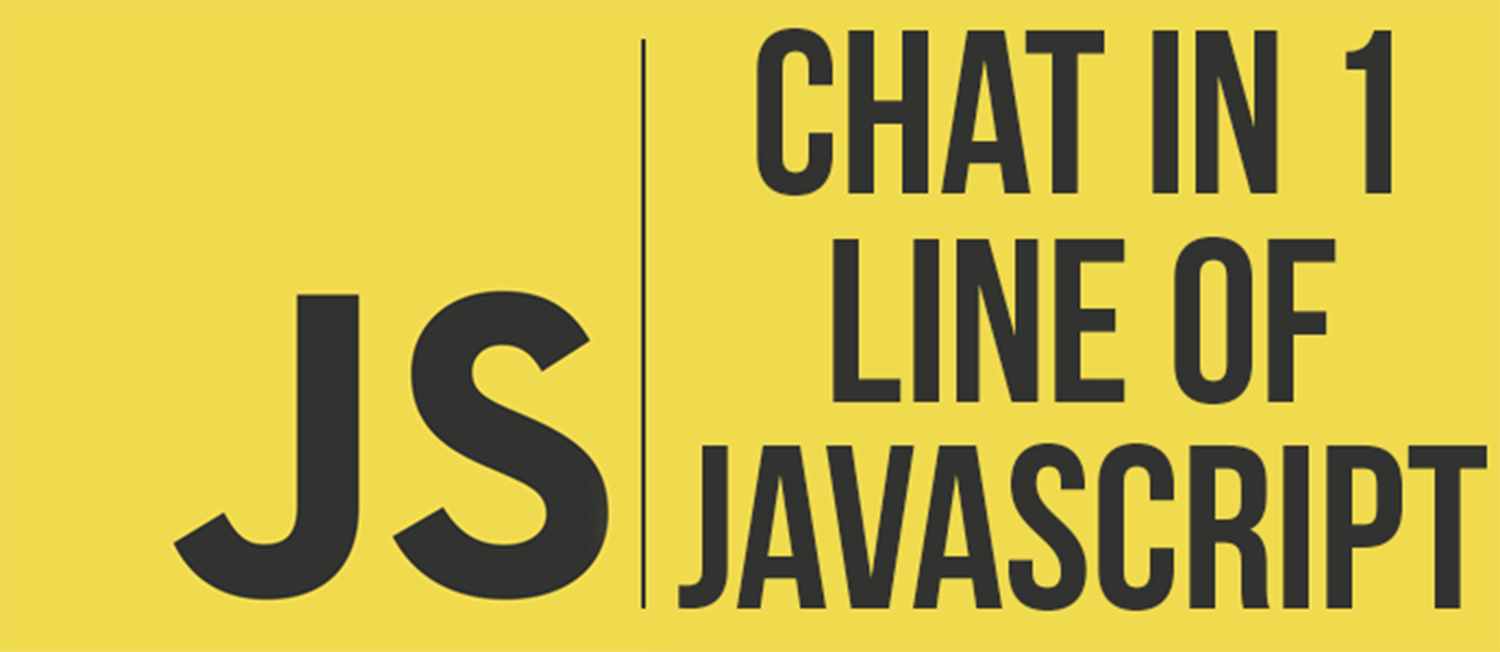 Mobile Group Chat with One Line of JavaScript