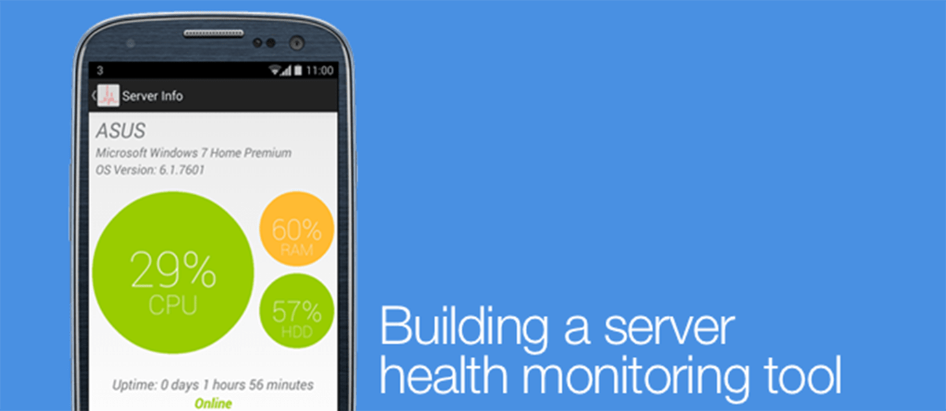 Building a Server Health Monitoring Tool with PubNub