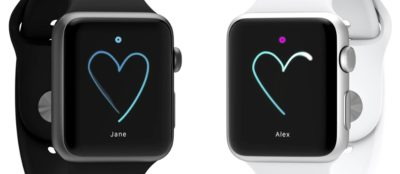 DIY Apple Watch 'Sketch' Real Touch Messaging App