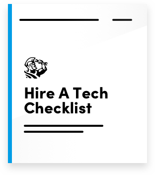 Hire a Tech Checklist
