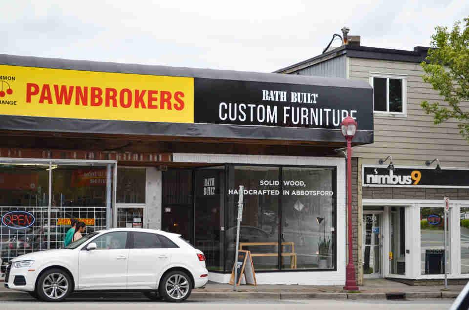 Showroom-1 - Custom Solid Wood Furniture in Vancouver Lower Mainland