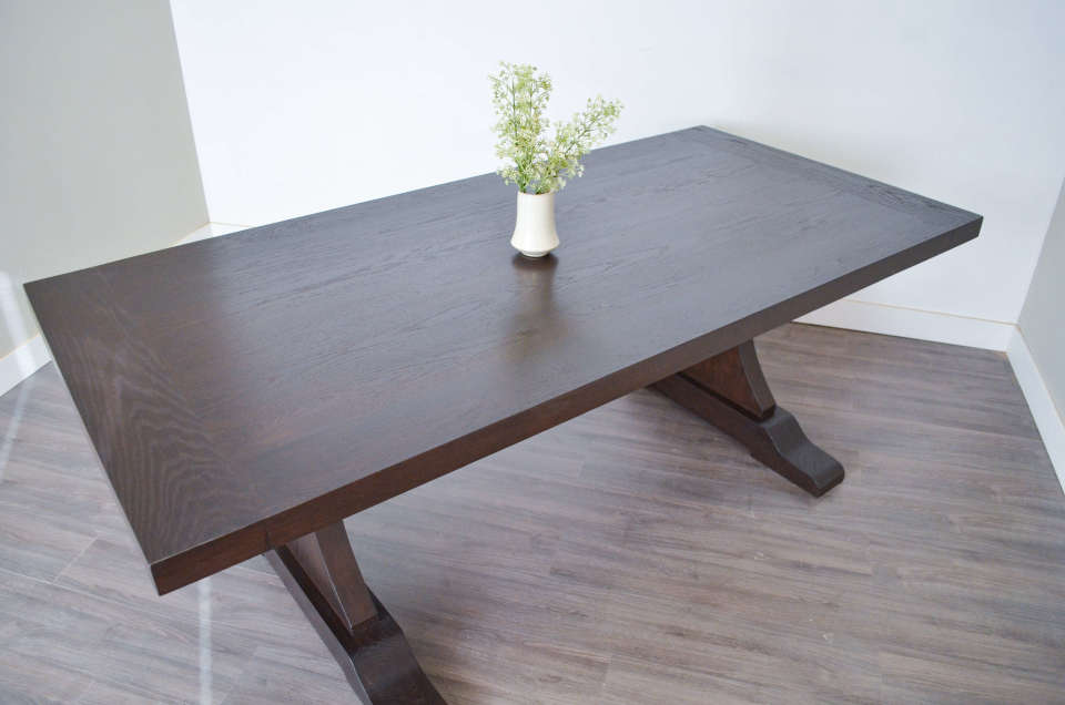 Atlanta Dining Table Custom Solid Wood Furniture In Vancouver Lower Mainland 1