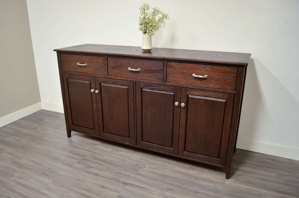 Atlanta Sideboard Custom Solid Wood Furniture In Vancouver Lower Mainland