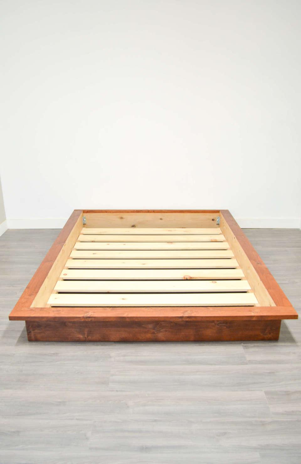 Athens platform bed frame no headboard