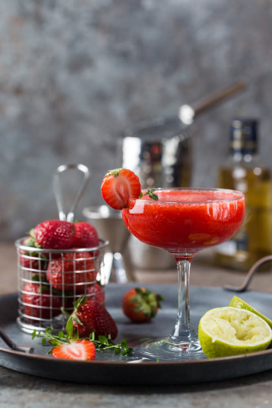 Hand Shaken Strawberry Daiquiri Cocktail Recipe 2021 Masterclass