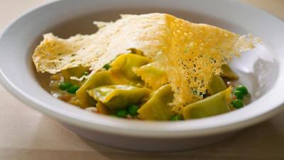 Chef Thomas Keller's Agnolotti Recipe With Peas and Bacon