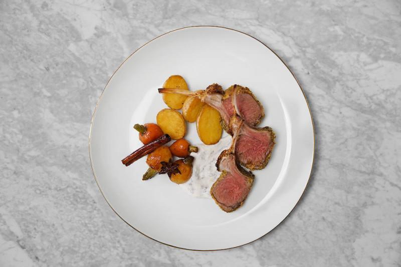 Gordon Ramsay's Recipe for Perfect Rack of Lamb