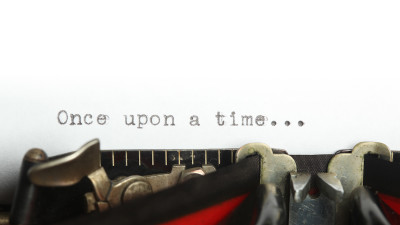 the introductory sentence to an exposition on a typewriter
