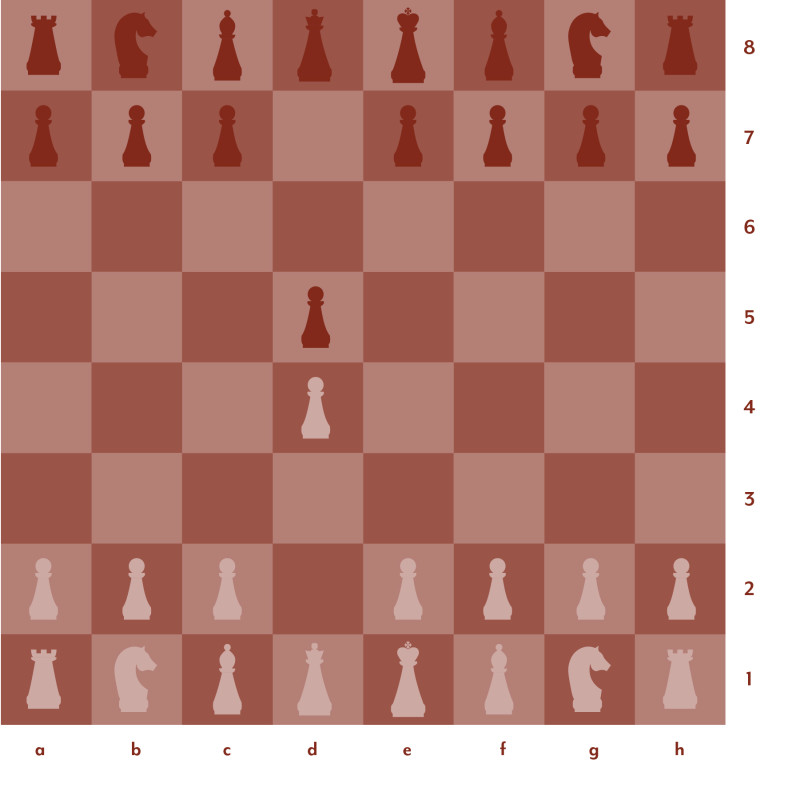 Red and pink chess board setup 2