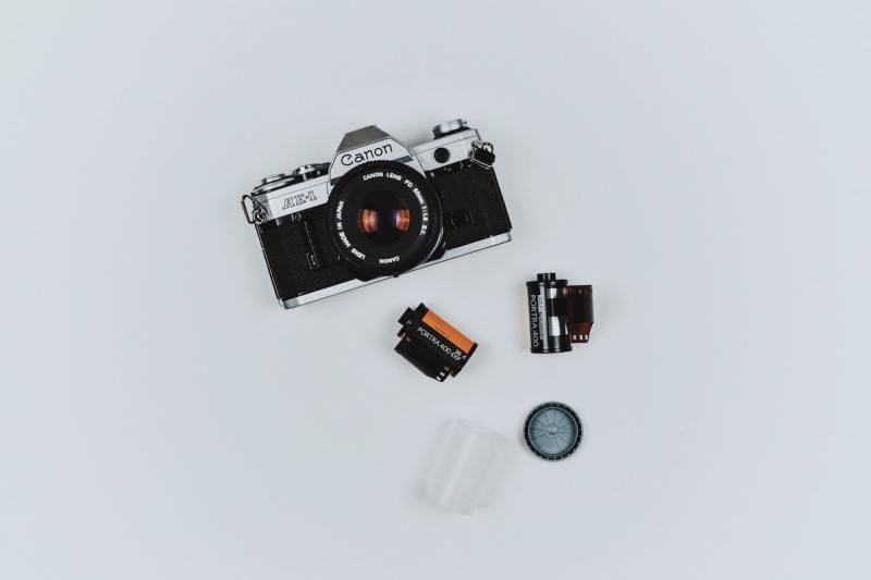 Film photography materials
