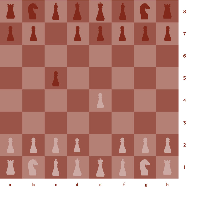 Red and pink chess board setup 3