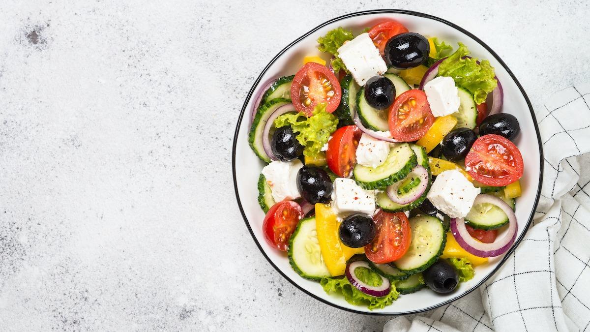 Greek Salad Recipe Banana Peppers