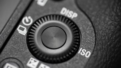 ISO settings on a camera