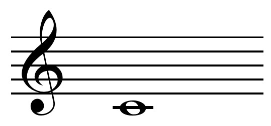 Middle C Note