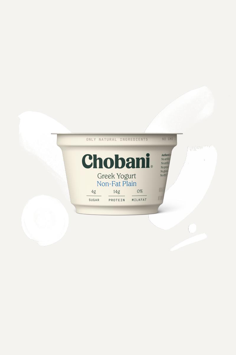 Plain Greek Yogurt   Non-Fat Plain Cup