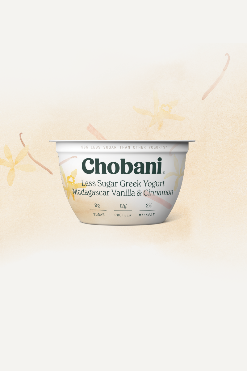 less sugar greek yogurt