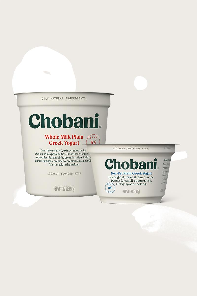 Chobani® Plain Greek Yogurt   Chobani®