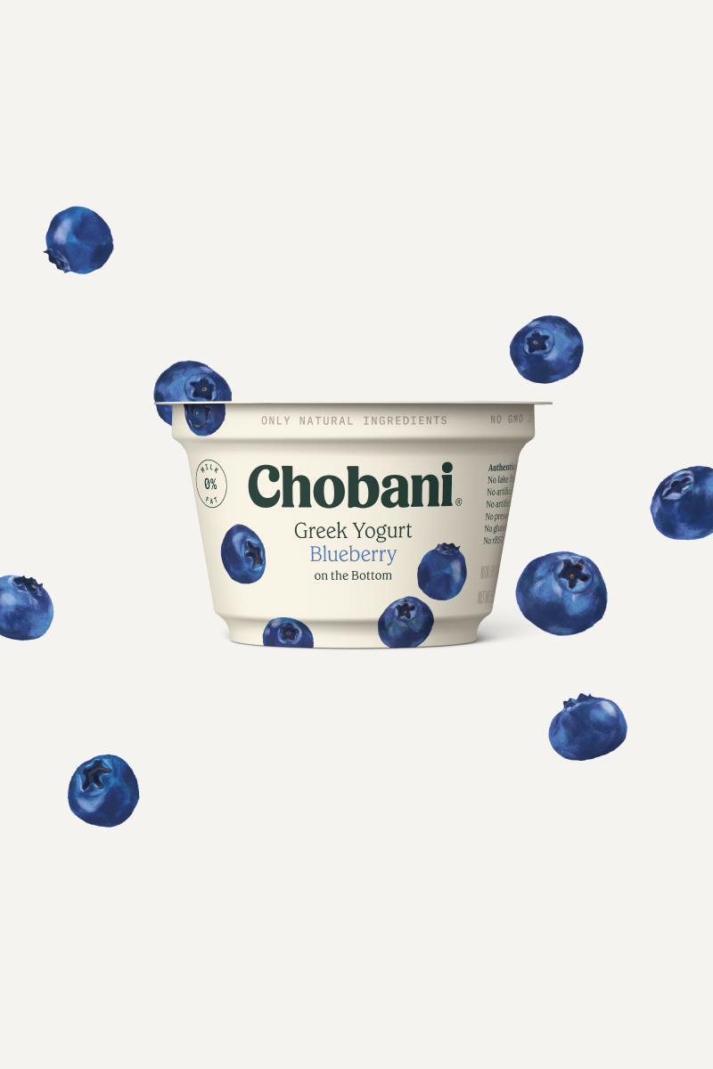 Greek Yogurt   Blueberry Cup