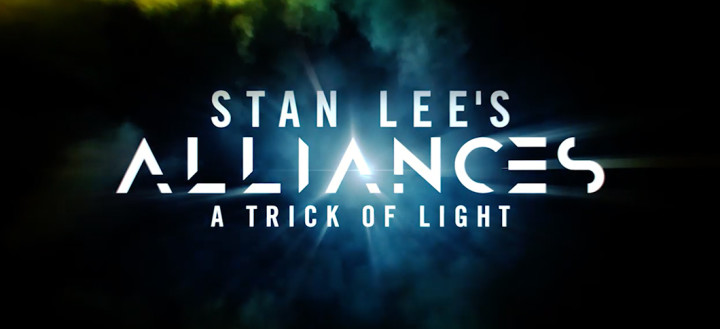 The title for Stan Lee's Alliances: A Trick of Light