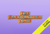 """The Baby-sitters club"" title on a purple background."