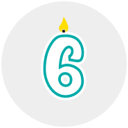 Month 6 Icon
