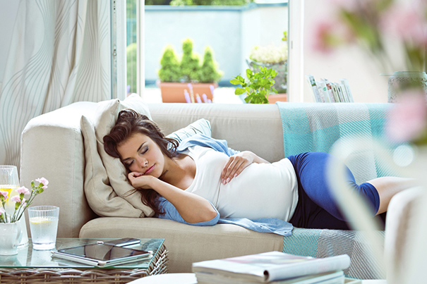 Sleeping while Pregnant
