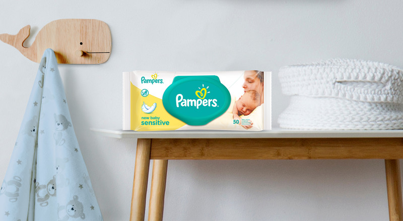 Pampers® New Baby Sensitive