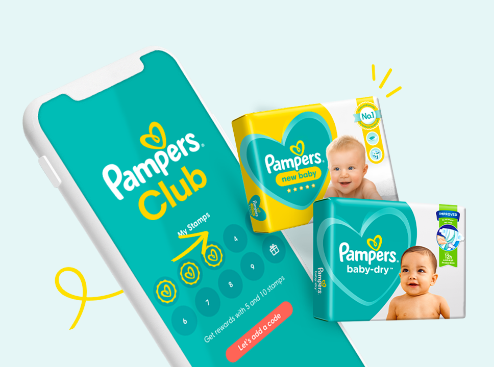 Pampers App- Hero Banner