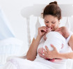 Mum with newborn